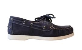 blauw bootschoen