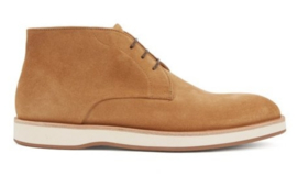 Beige veter boot