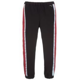 Zwart pantalon met zijbies