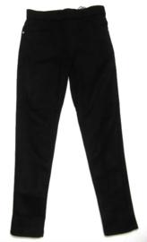 Zwart velour broek
