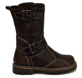 bruin gesp boot