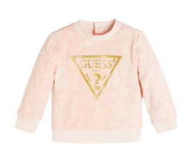 Roze logo sweater