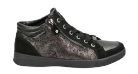 Zwart brons high top sneaker