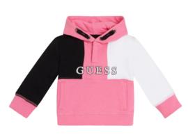 Zwart wit roze sweat GUESS