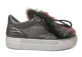 Zwart multi bont sneaker