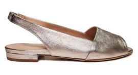 Rosé glans sandaal