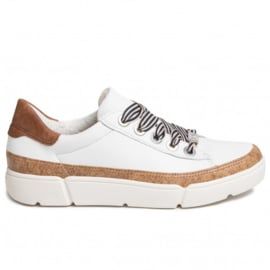 Wit kurk sneaker