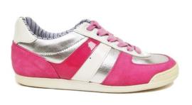 roze wit zilver sneaker