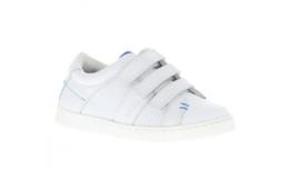 wit klitband sneaker
