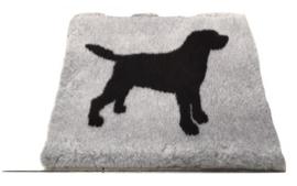 Vet Bed Xtra Soft - Labrador Zwart 150 * 100 cm