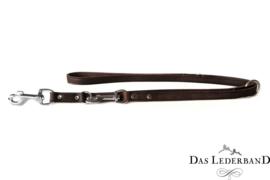 Das Lederband  Weinheim  -  Verst. Looplijn - 200 cm -Mocca