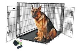 Draadkooi Hondenbench Zwart
