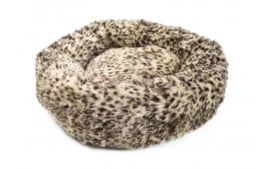 Topmast Kattenmand Hondenmand Supersoft Rond Dierenprint 67 cm
