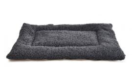 Topmast Benchmat Soft Fleece - Antraciet - 60 X 40 cm