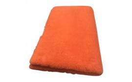 Vet Bed Oranje effen Latex Anti Slip