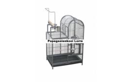 Papegaaienkooi LORRE Hamerslag Zwart