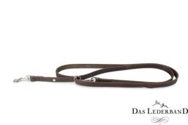 Das Lederband Weinheim - traploos verst. looplijn  - 210 cm - Mocca