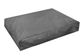 Topmast Comfortbag Leatherlook Antraciet - Zachte vulling 125 x 90 x 15 cm