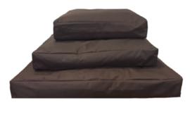 Topmast Comfortbag Hondenkussen   Waterproof Canvas - Bruin