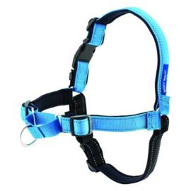 Easy Walk® Deluxe Harnas anti-trek tuig blauw