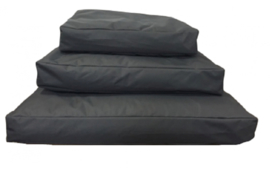 Topmast Comfortbag Hondenkussen   Waterproof Canvas - Antraciet