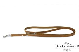 Das Lederband Weinheim - traploos verst. looplijn  - 210 cm - Maroon
