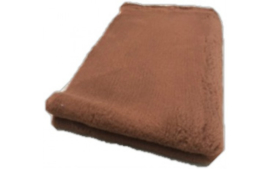 Vet Bed Bruin effen - latex anti-slip