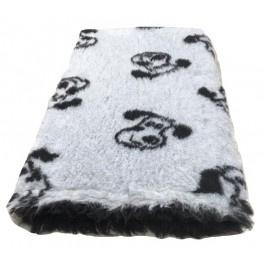 Vet Bed Dogface Grijs Zwart - latex anti-slip