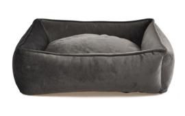 Topmast Hondenmand Soft Velours - 61 x 48 cm - Grijs