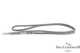 Das Lederband  Weinheim  -  Verst. Looplijn - 200 cm - Granite