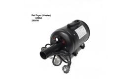 Waterblazer Mistral Var.instelling Max. 2800 W. Power. Zwart