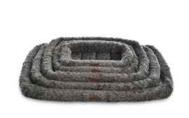 Topmast Benchmat Langhaar Fleece - Antraciet - 50 X 35 cm