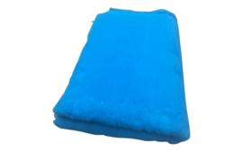 Vet Bed Turquoise effen Latex Anti Slip