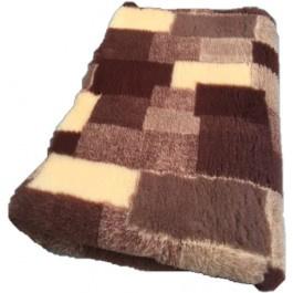 Vet Bed Patchwork Taupe Bruin Beige - latex anti-slip