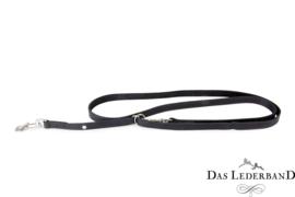 Das Lederband Weinheim - traploos verst. looplijn  - 210 cm - zwart