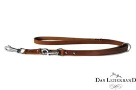 Das Lederband  Weinheim  -  Verst. Looplijn - 200 cm -Maroon