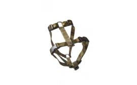 Borsttuig nylon Camouflage. Verstelbaar 40-70cm