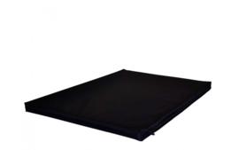 Benchkussen waterproof Nylon zwart