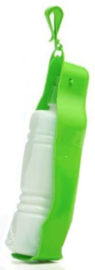 Dogs Collection hondendrinkfles 450 ml polyester lichtgroen