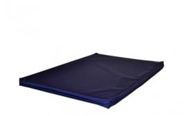Benchkussen waterproof Nylon blauw