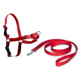 Easy Walk® Harnas anti -trek tuig Rood