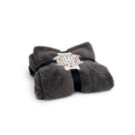 51DN Sheep Deken grijs/zwart  150x100cm