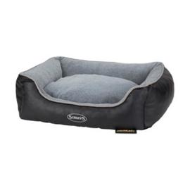 Scruffs Chateau Memory Foam Box Bed Dove M grijs