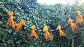 Oranje slingertje