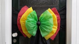 Drie kleurenstrik Reggae