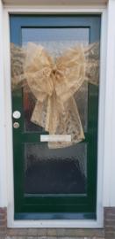 Gouden strik op je deur