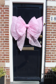 Roze deurstrik