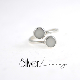 Moedermelk Ring Duo Design