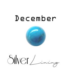 December Turkoois ( blauw )