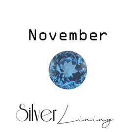 November Topaas ( blauw )